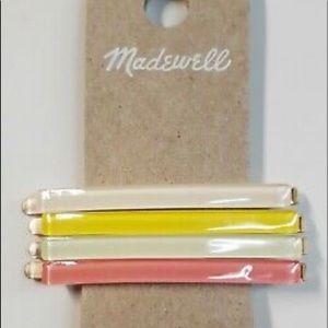 Madewell Rainbow Hair Pins
